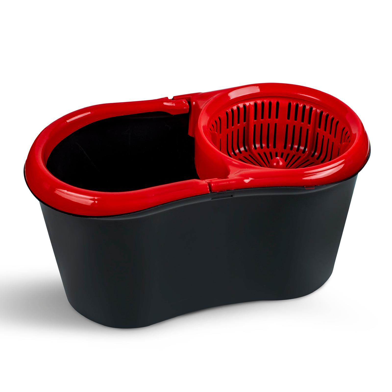 Twister Mop Set Black- Red