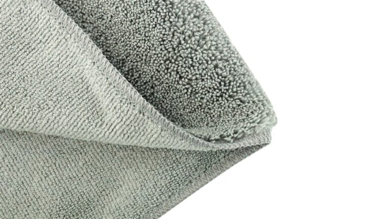 Microfiber Car Cleaning Cloth Grey