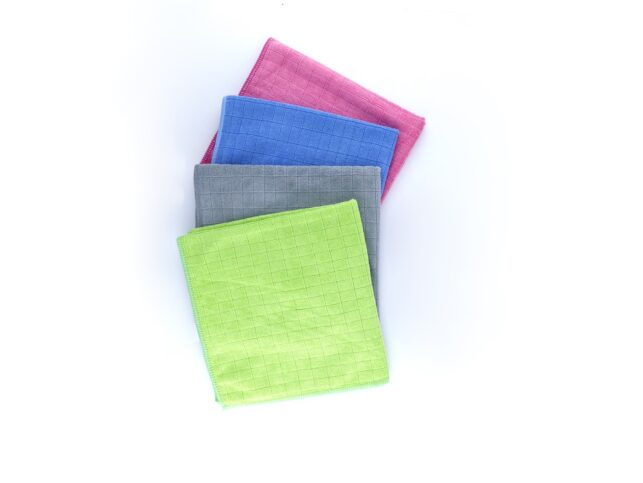 General Cleaning Microfiber Checkered Cloth