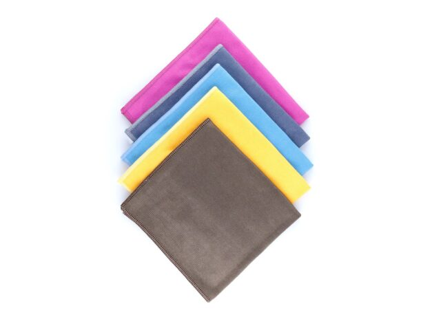 Microfiber Thick Glass Cleaning Cloth