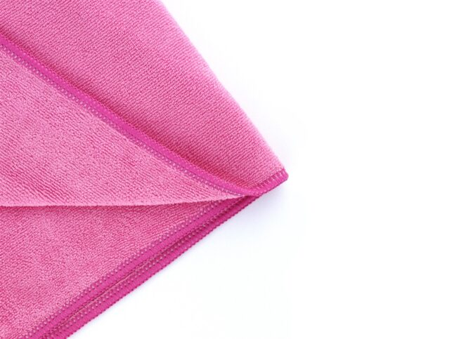 Microfiber General Cleaning Cloth Pink