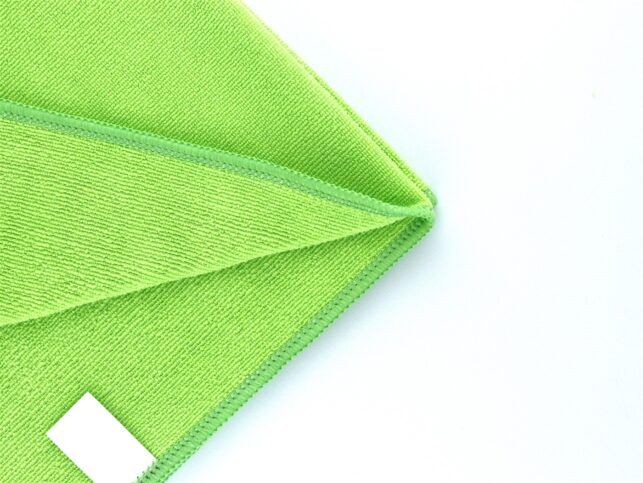 Microfiber General Cleaning Cloth Green