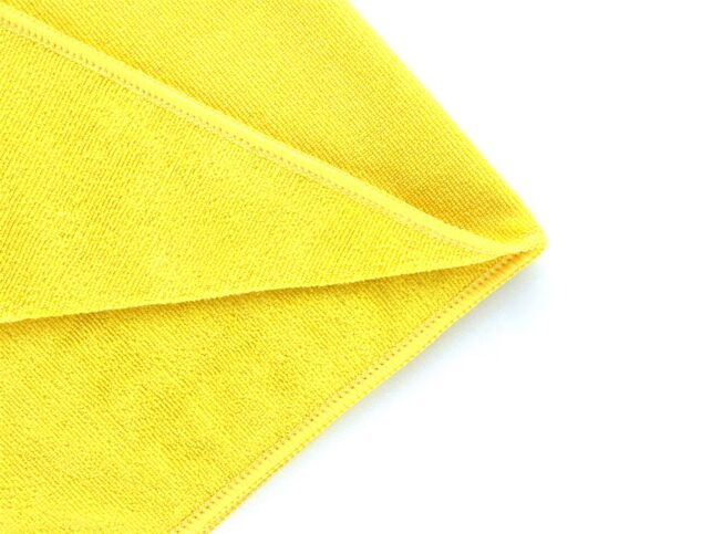 Microfiber General Cleaning Cloth Yellow