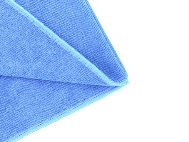 Microfiber General Cleaning Cloth Blue