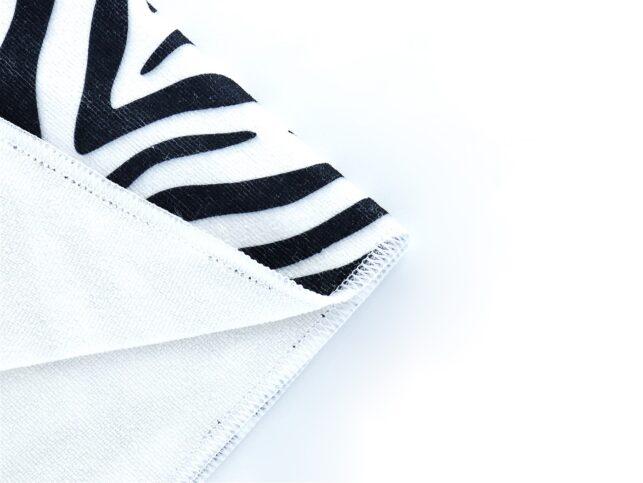 General Cleaning Microfiber Cloth (Zebra)`