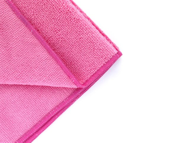 Drying Microfiber Cloth Middle - Pink