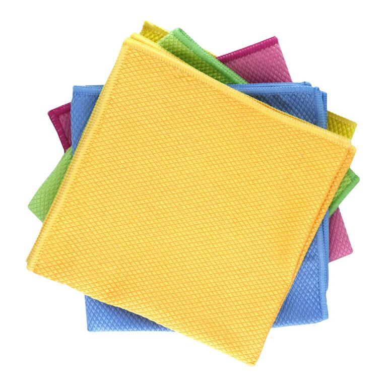 Diamond Pattern Microfiber Glass Cloth