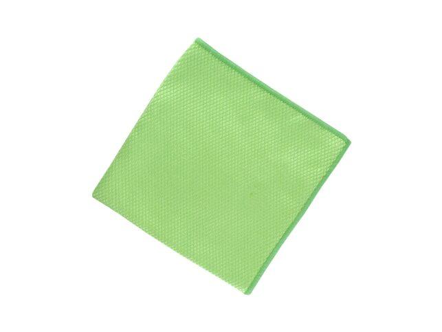 Diamond Pattern Microfiber Glass Cloth Green