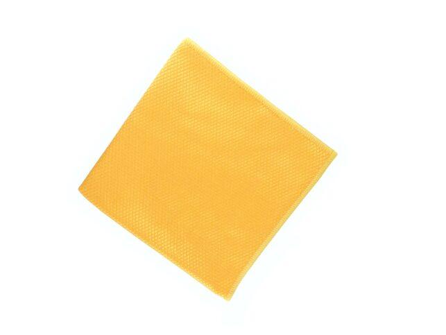 Diamond Pattern Microfiber Glass Cloth Orange