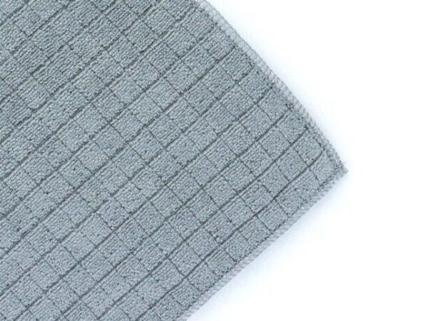 microfiber scouring cloth grey