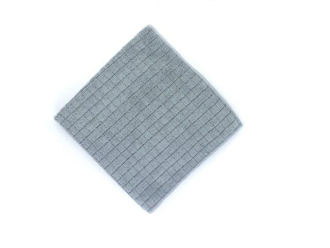 Microfiber Sılvery Scouring Cloth Grey