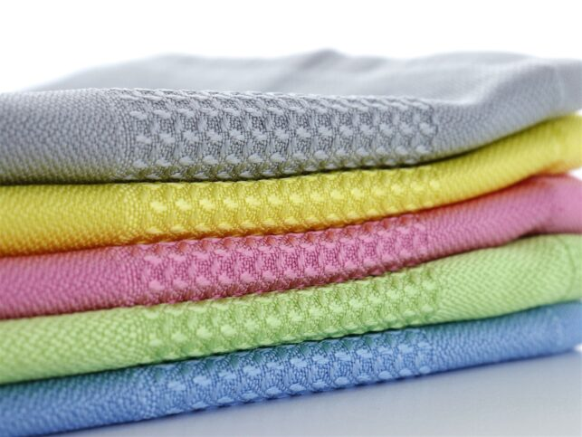 Decorative Microfiber Glass Cleaning Cloth