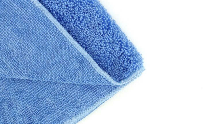 Drying Microfiber Cloth Middle - Blue
