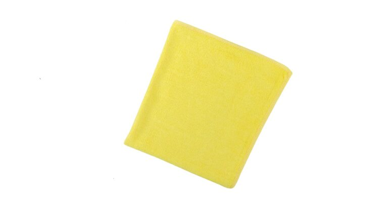 General Cleaning Microfiber Cloth Bright - Yellow