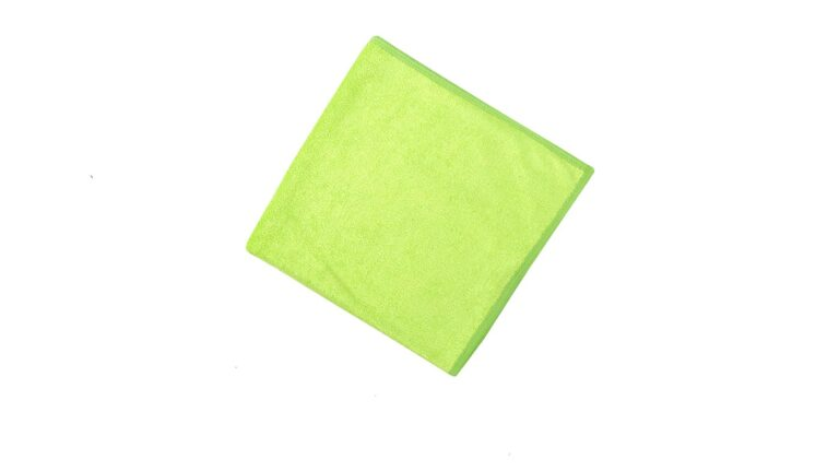 General Cleaning Microfiber Cloth Bright - Green