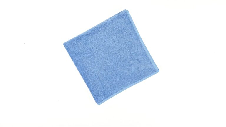General Cleaning Microfiber Cloth Bright - Blue
