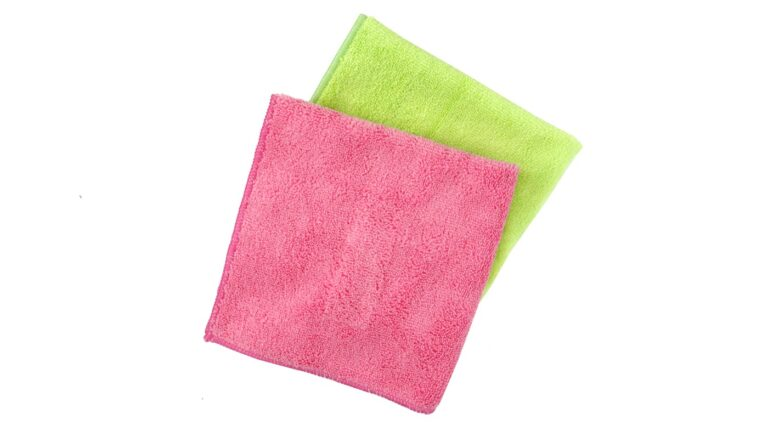 Drying Microfiber Cloth Middle - Light Pink Green