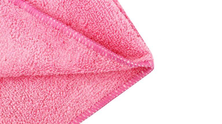 Drying Microfiber Cloth High - Light Pink