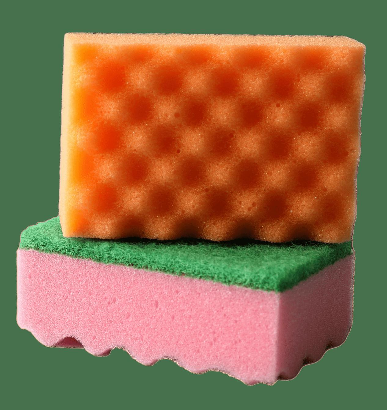 wavy sponge 2pc
